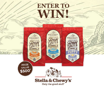 Win $500 in Dog Food from Stella & Chewy's