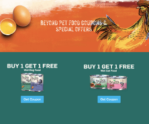 BOGO Free Purina Coupons