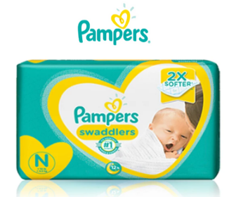 Free Sample of Pampers Diapers