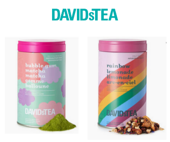 DAVIDsTEA: BOGO 50% Off Collectible Tins