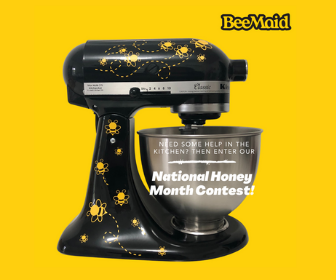 Win a Kitchen Aid Mixer from BeeMaid Honey