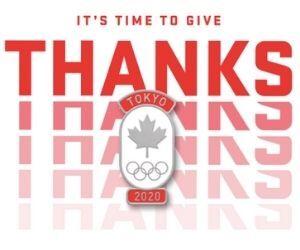 Free Team Canada 2020 Olympic Pins