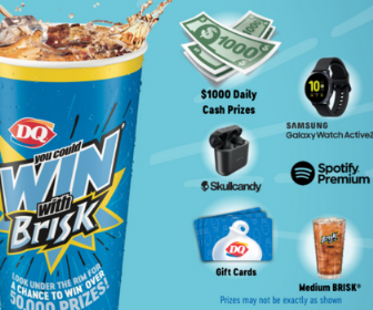 Win Prizes from DQ