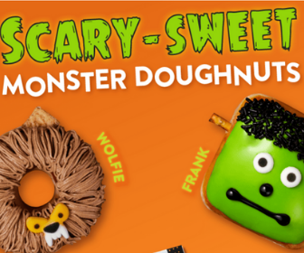 Free Doughnut from Krispy Kreme