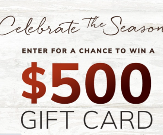 Win a $500 Gift Card from Pottery Barn Kids
