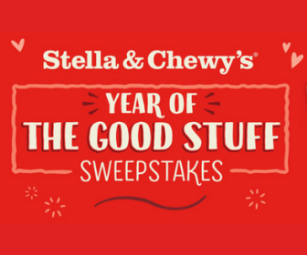 Win a Year Supplies of Dog Food from Stella and Chewy's