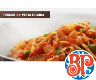 Boston Pizza: Pasta Tuesday
