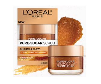FREE L'Oreal Pure-Sugar Scrub Sample