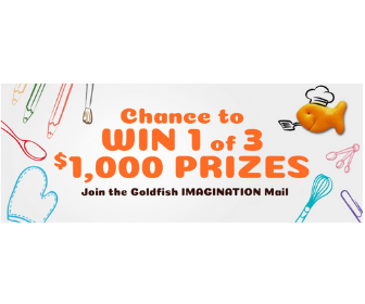 Goldfish Crackers Contest from Pepperidge Farm