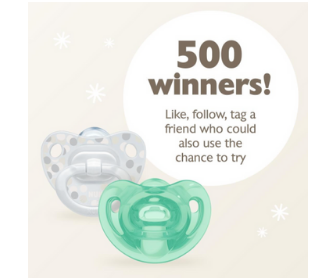 Win a Free Pacifier 2-Pack from Nuk