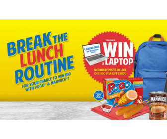 Win a Laptop from Pogo and Manwich