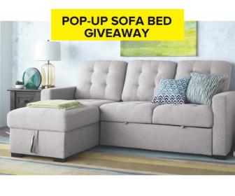 Win a Pop-Up Sofa Bed