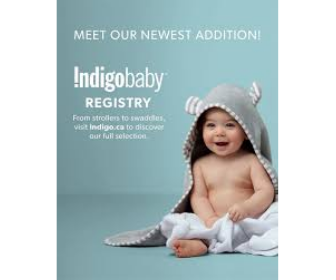 Indigo Baby Registry Benefits