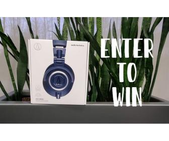 Win an Audio-Technica from Best Buy