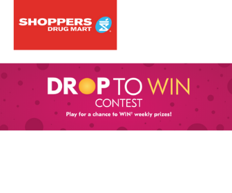 Win Prizes from Shoppers Drug Mart