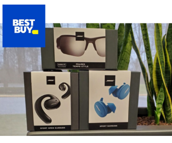 Win Bose Sport Earbuds & Bose Frames Tempo from Best Buy