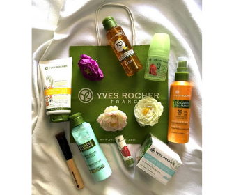 FREE Gift with purchase from Yves Rocher
