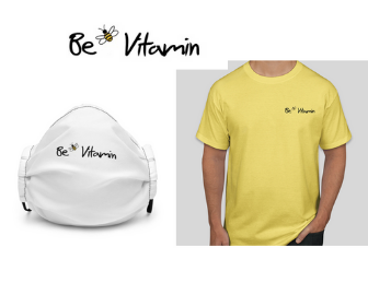 FREE face mask or T-Shirt from Be Vitamin