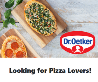 FREE samples from Dr. Oetker