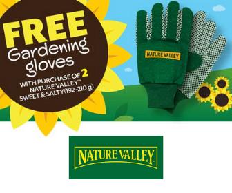 Gardening Gloves for free!