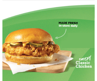 """The Classic"" Chicken Sandwich for $0.07 from 7-Eleven"