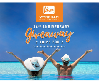 Win a Trip for 2 from Viva Wyndham Resorts