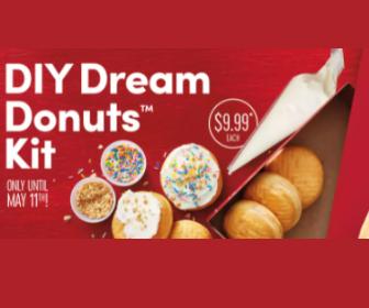 DIY Dream Donuts Kits from Tim Hortons