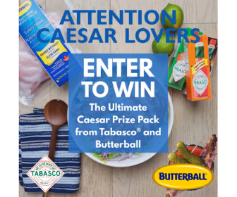 Win a Special Caesar Prize Pack