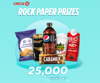 Win Awesome Instant Prizes from Circle K