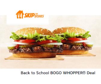 Burger King: BOGO Whopper