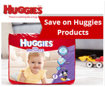 Save on Huggies Products