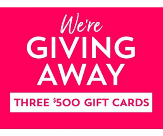 Win a $500 Gift Card from Bath & Body Works
