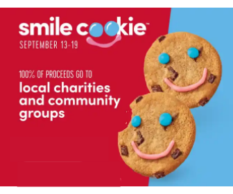 Tim Hortons: Smile Cookie for $1.00