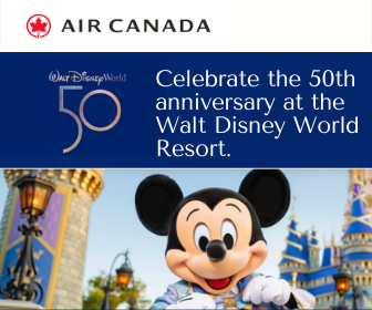 Win Magical Prizes from Air Canada