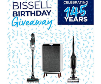 Win a Prize Pack from Bissell