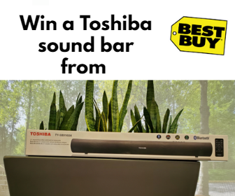 Win a Toshiba Sound Bar from Best Buy