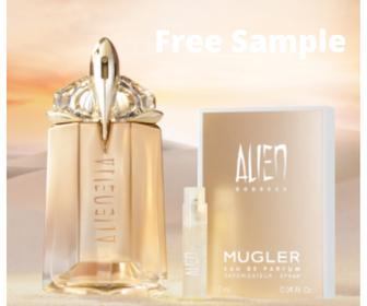 Free Sample of Mugler Alien Goddess Perfume