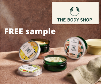 """""""The Body Shop"""" Body Butter FREE sample from Sampler"""