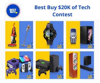 Win $20,000 in the Latest Tech from Best Buy