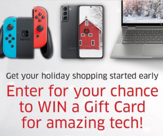 Win a $500 Gift Card from The Source
