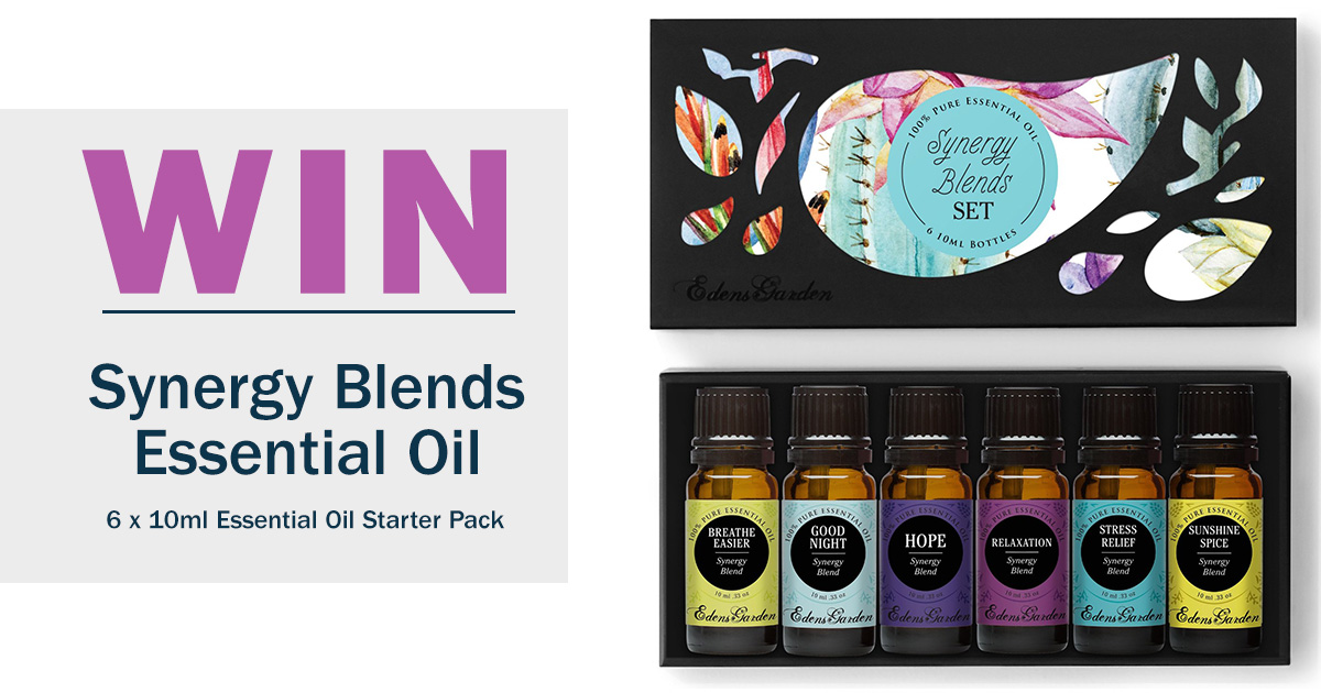 Win An Essential Oil Synergy Pack