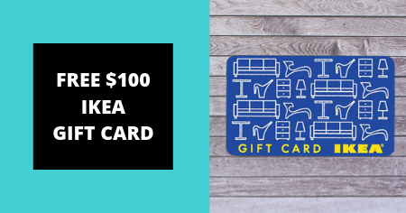 ikea gift card giveaway Freebies