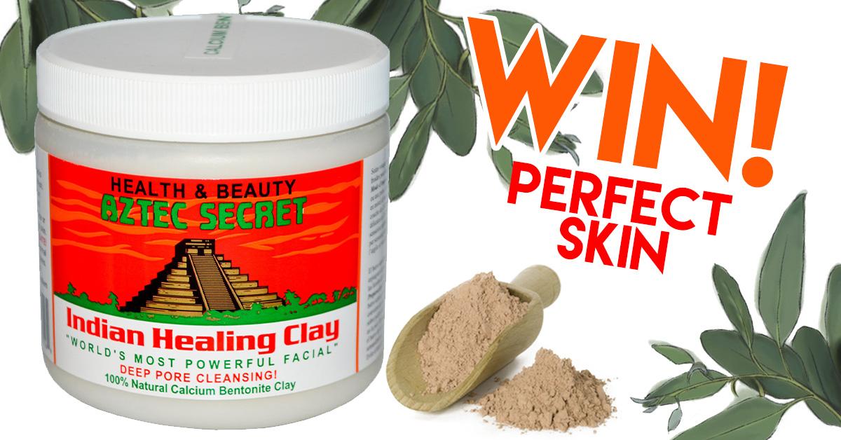 Win An Aztec Secret Indian Healing Clay Mask