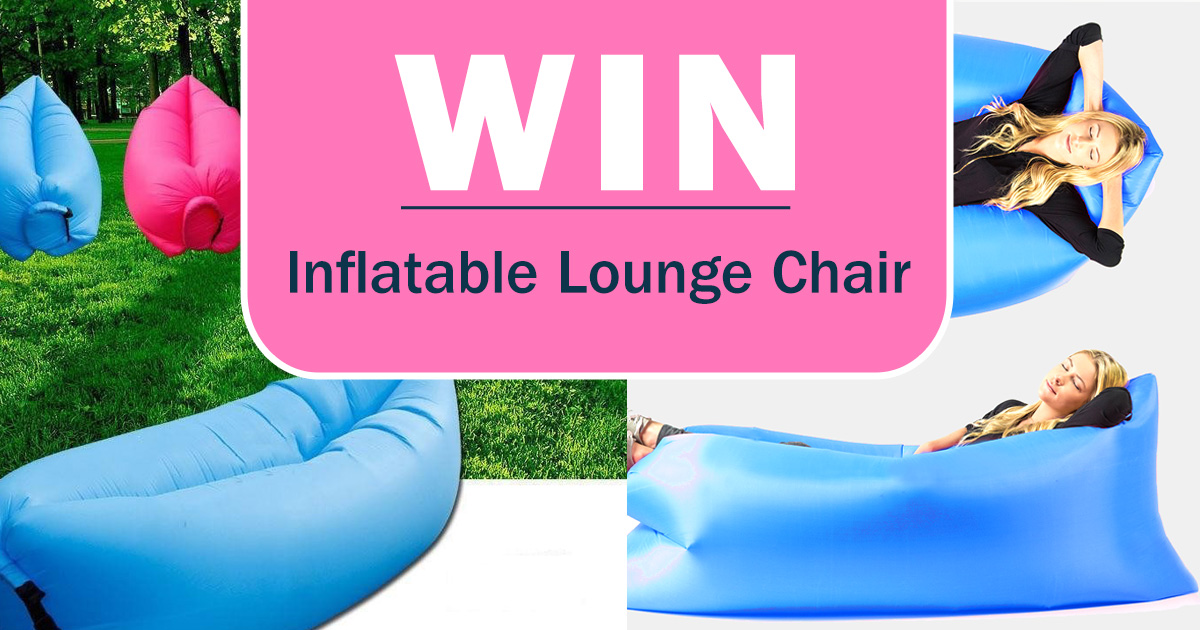 Win an Inflatable Lounge Chair