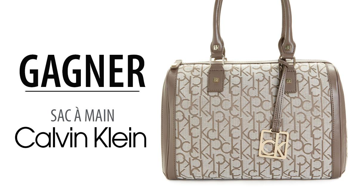 Gagnez un sac à main Calvin Klein