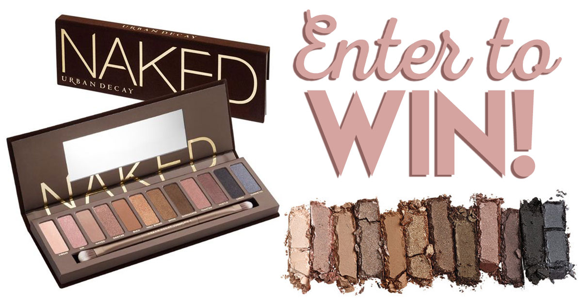 Win an Urban Decay Naked Eyeshadow Palette