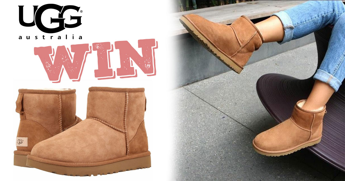 Win a Pair of UGG Boots!