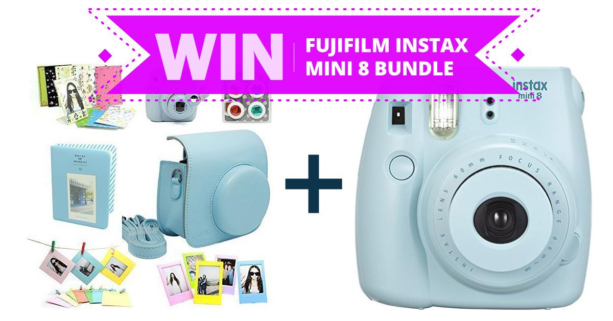 Win A Fujifilm Instax Mini 8 Instant Camera