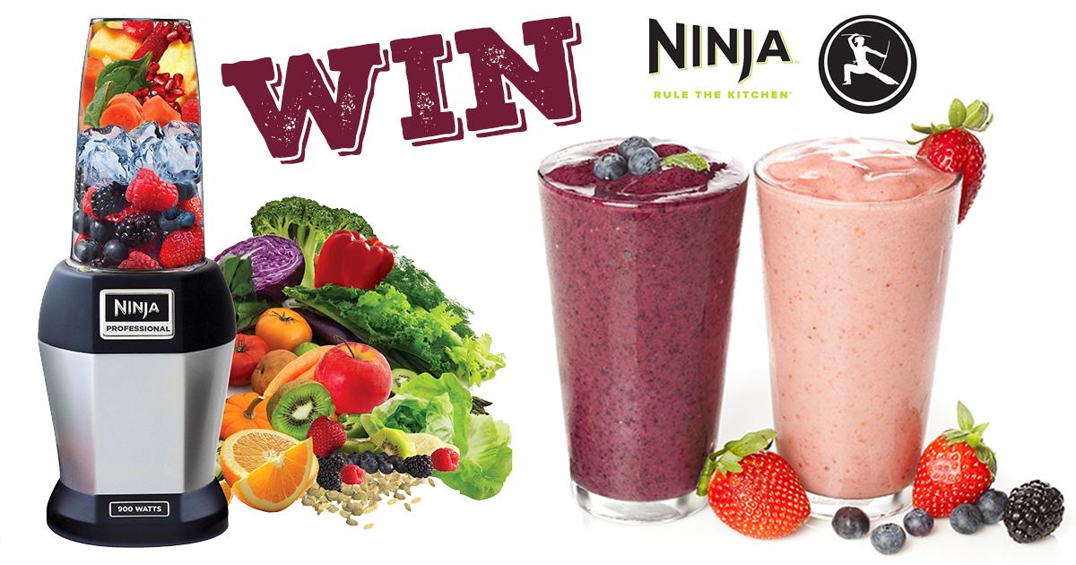 Win a Ninja Pro Blender