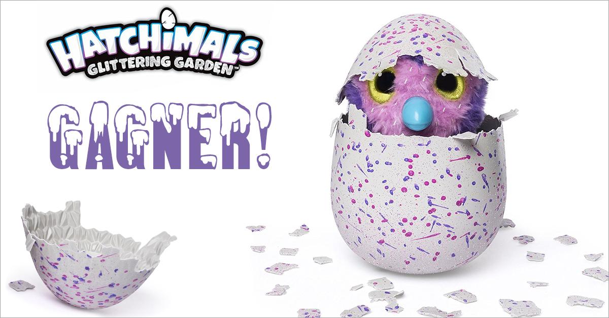 concours Gagner un jouet interactif  l'oeuf Hatchimal !